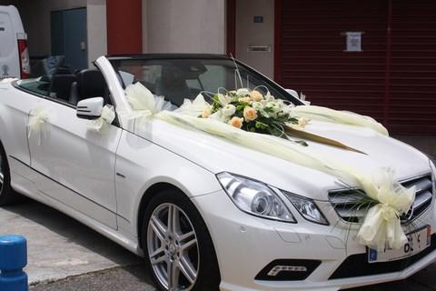 Mariage et c r monie fleuriste martigues - Prix decoration voiture mariage fleuriste ...